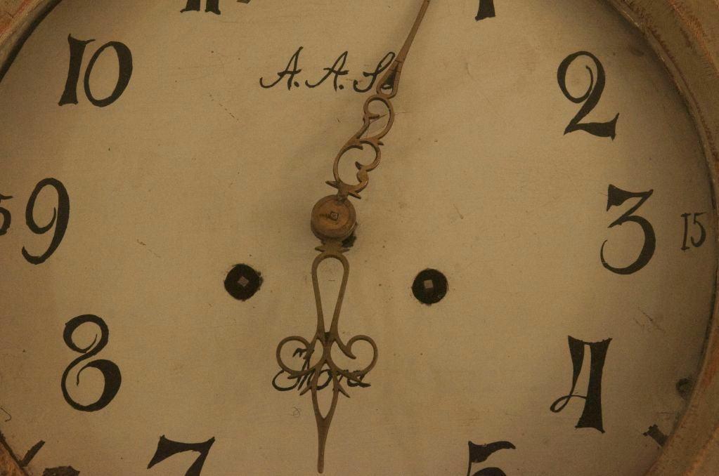 18th Century Swedish Mora Clock For Sale 2