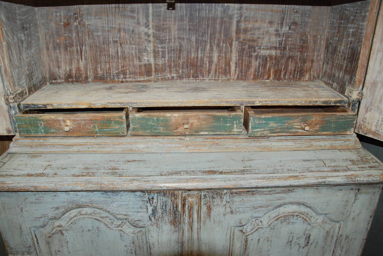 Swedish Rococo Cupboard For Sale 1