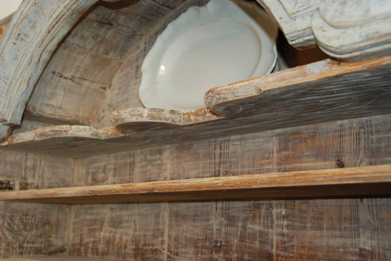 Swedish Rococo Cupboard In Good Condition For Sale In Encinitas, CA