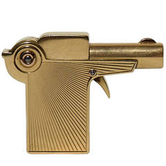 Cartier Gold Gun Pocket Lighter