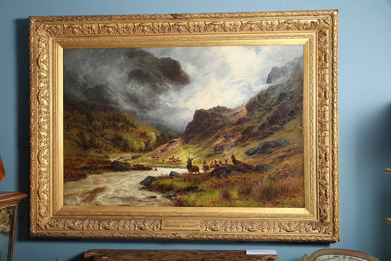 Charles Stuart (British 1838-1907)