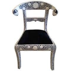Middle Eastern Regency Style Chair
