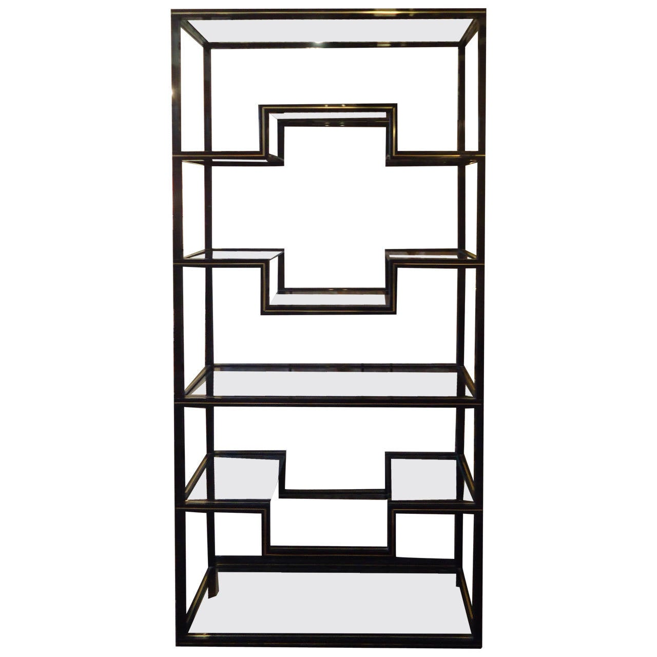 super chic pierre vandel lacquered aluminum tag re at 1stdibs. Black Bedroom Furniture Sets. Home Design Ideas