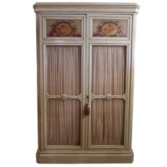 Exquisite Antique French Bookcase Armoire