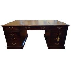 Gigantic Georgian style Mahogany Desk