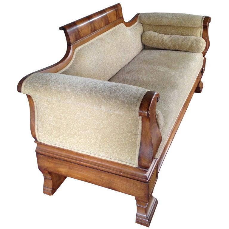 Classic Antique Empire Sofa At 1stdibs