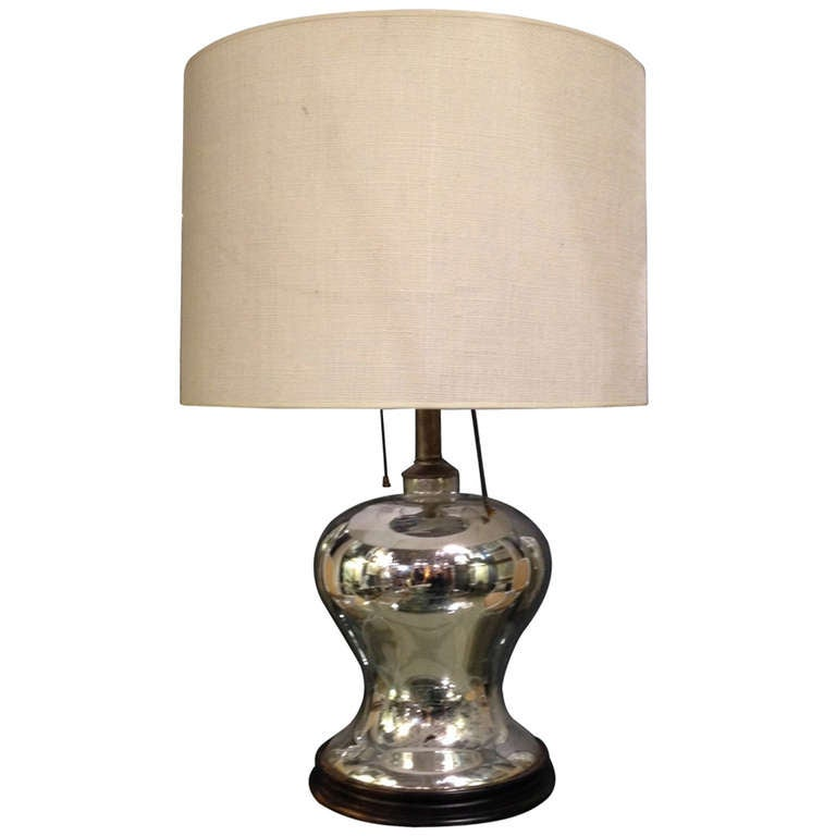 this midcentury modern mercury glass table lamp is no longer available. Black Bedroom Furniture Sets. Home Design Ideas