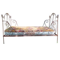Vintage Bridgehampton Iron Daybed