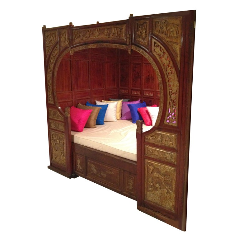 Antique Chinese Opium Bed At 1stdibs