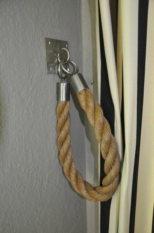 Nautical Curtain Tie Back Hooks