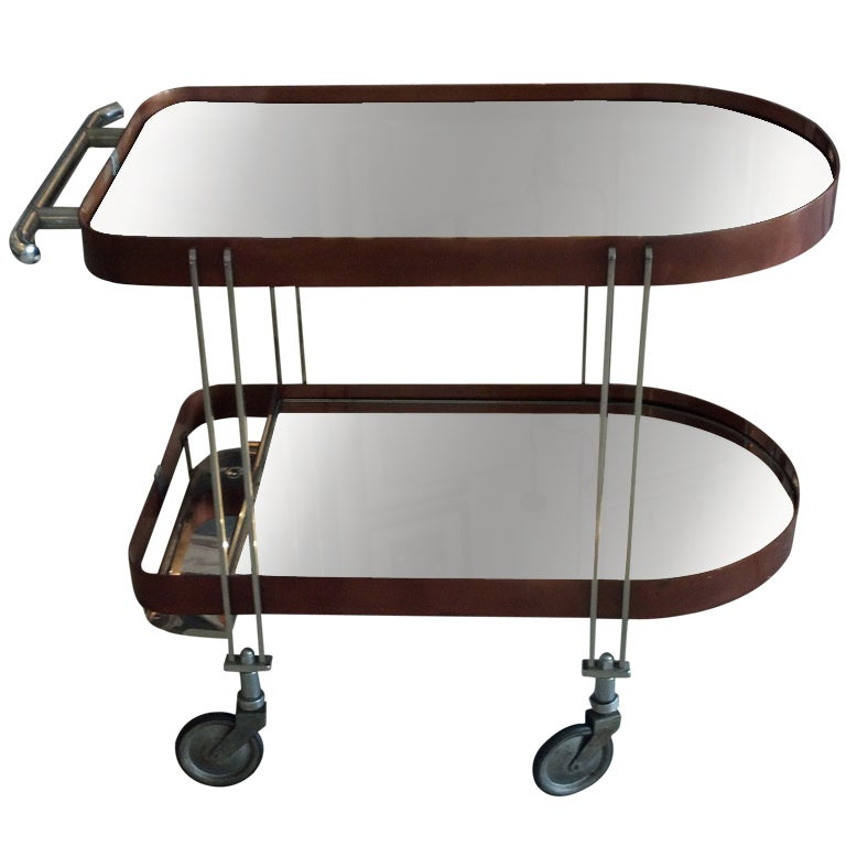 Art Deco Bar Cart At 1stdibs