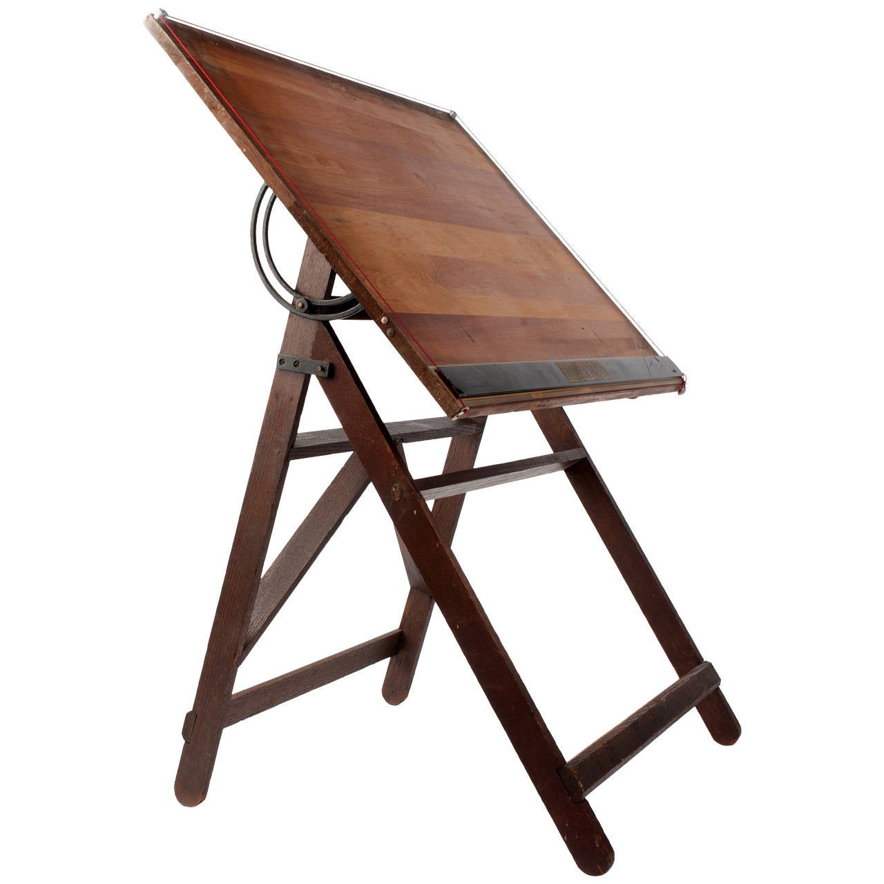 vintage architect 39 s wooden drafting table at 1stdibs