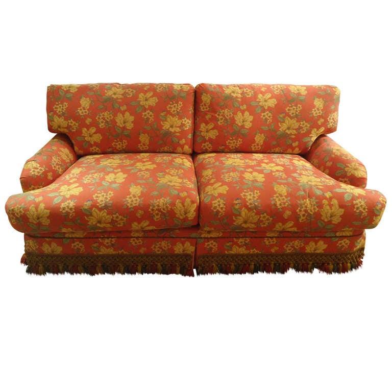 Sumptuous Down Custom Sofa At 1stdibs