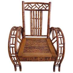 Wonderful Bamboo Club Chair