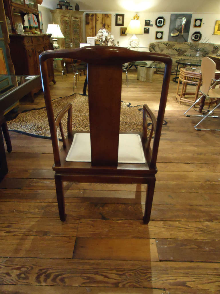 set of mahogany henredon dining chairs at 1stdibs