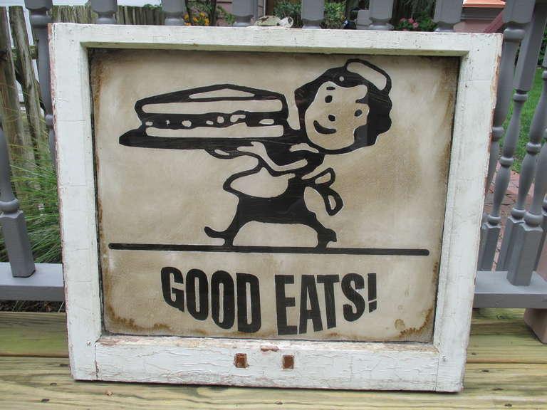 Vintage Restaurant Sign 74
