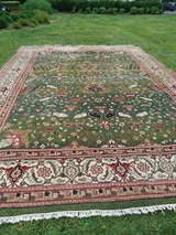 Large Wool Heriz Indian Rug image 3