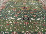 Large Wool Heriz Indian Rug image 4