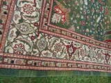 Large Wool Heriz Indian Rug image 6