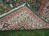 Large Wool Heriz Indian Rug image 7