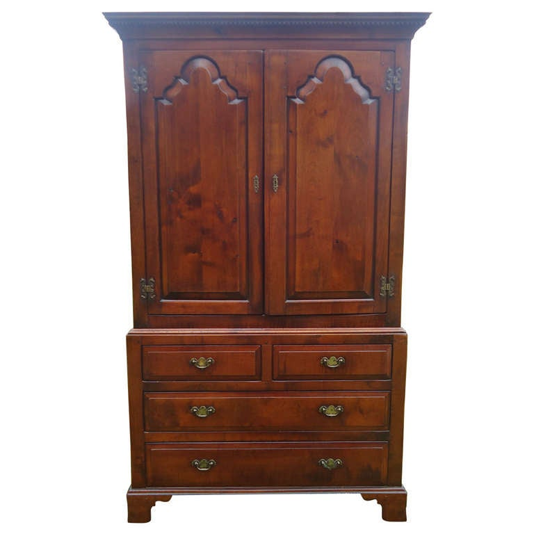 antique armoire tv cabinet at 1stdibs. Black Bedroom Furniture Sets. Home Design Ideas