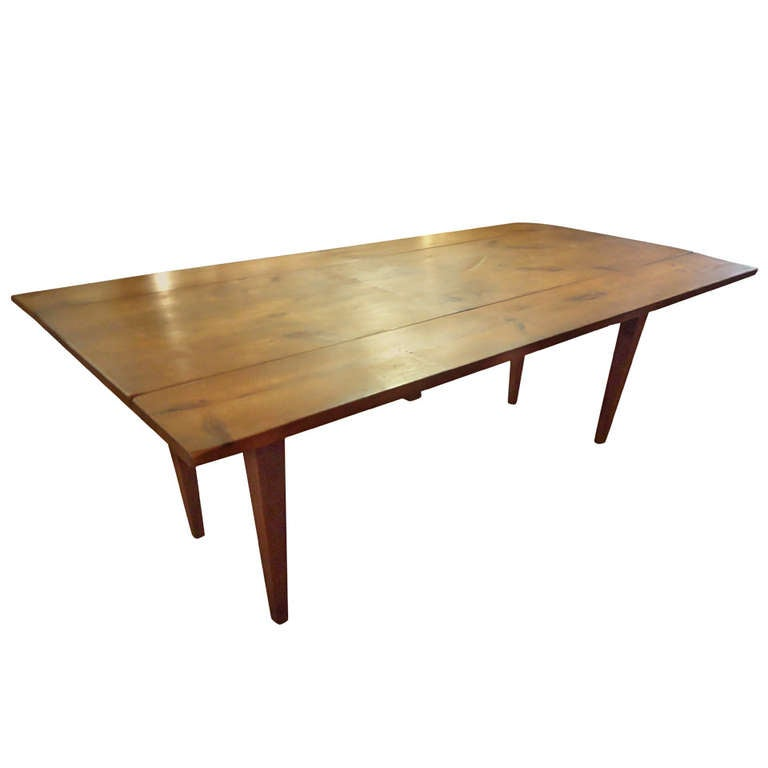 Antique Drop Leaf Farm Table At 1stdibs