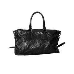 Prada Nappa Antique Black Bag