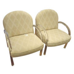 Pace Lucite Armchairs