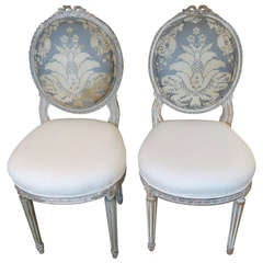 Lovely French Antique Sidechairs