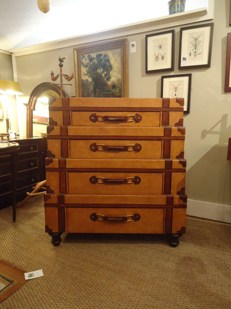 Stacked Suitcase Chest Of Drawers At 1stdibs