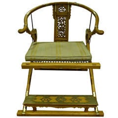 Antique Imperial Folding Chair