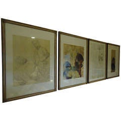 Toulouse Lautrec Rare Series of Limited Edition Prints