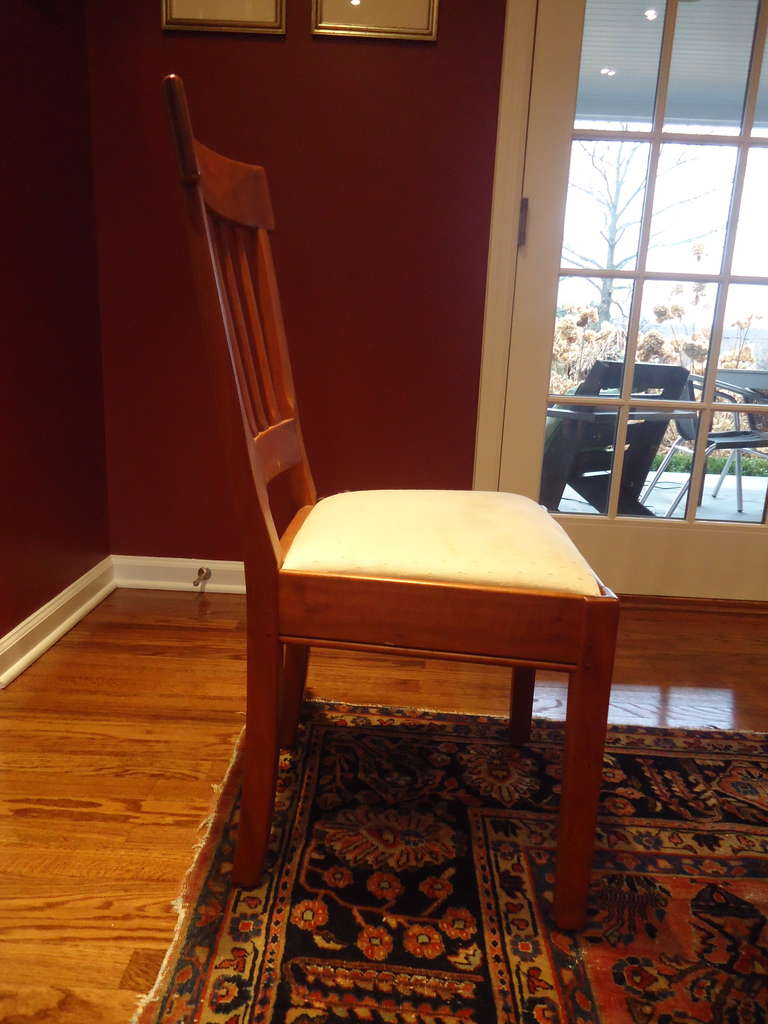 Vermont Artisan Dining Set Including Cherry Table And