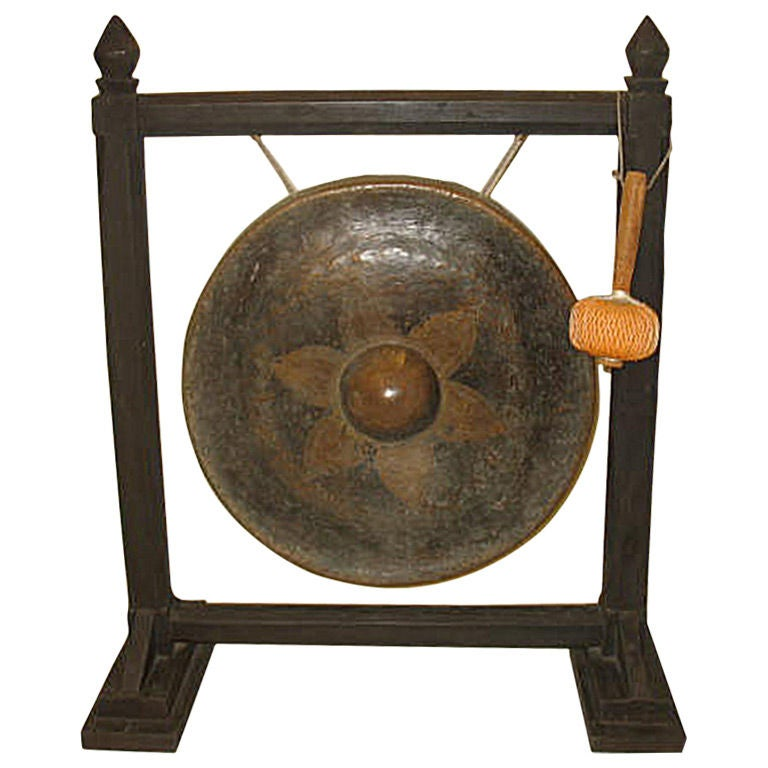 Bronze Gong At 1stdibs