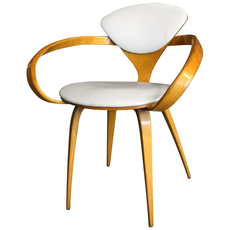 Cherner For Plycraft Pretzel Chair At 1stdibs