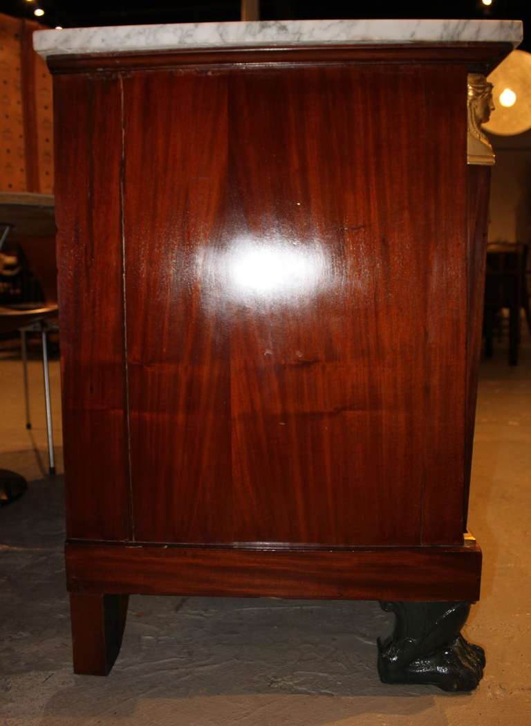 fine french empire commode bureau chest at 1stdibs. Black Bedroom Furniture Sets. Home Design Ideas