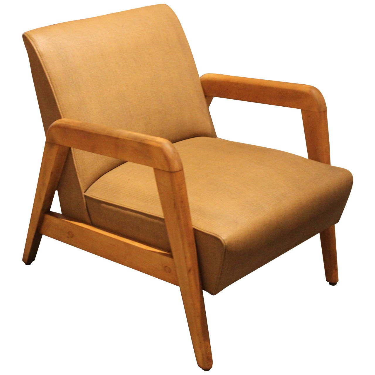 Mid century modern lounge chair at 1stdibs for Contemporary lounge furniture