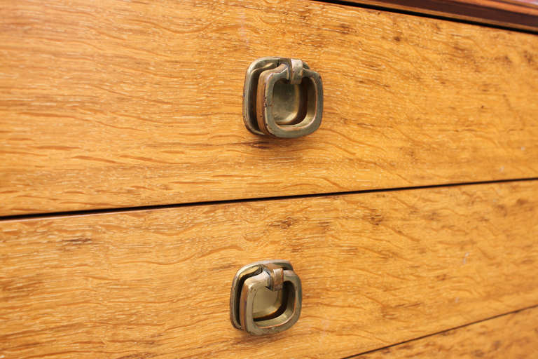 American Ed Wormley Six Drawer Chest for Dunbar For Sale