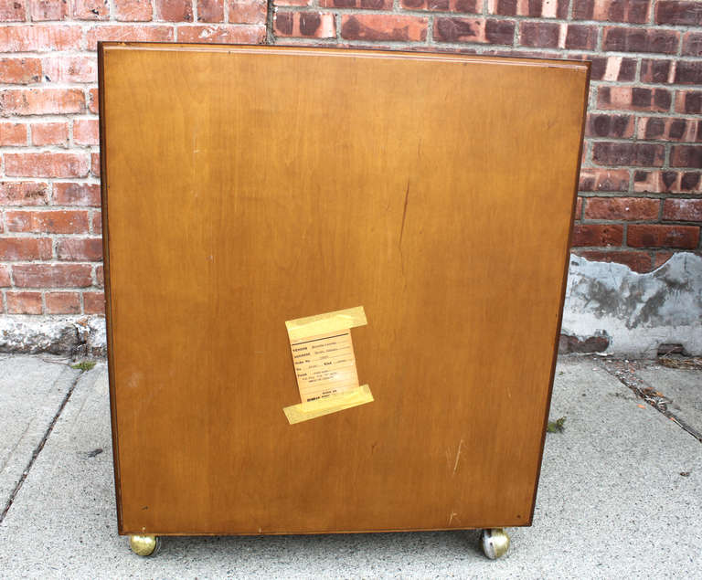 Ed Wormley Six Drawer Chest for Dunbar For Sale 2