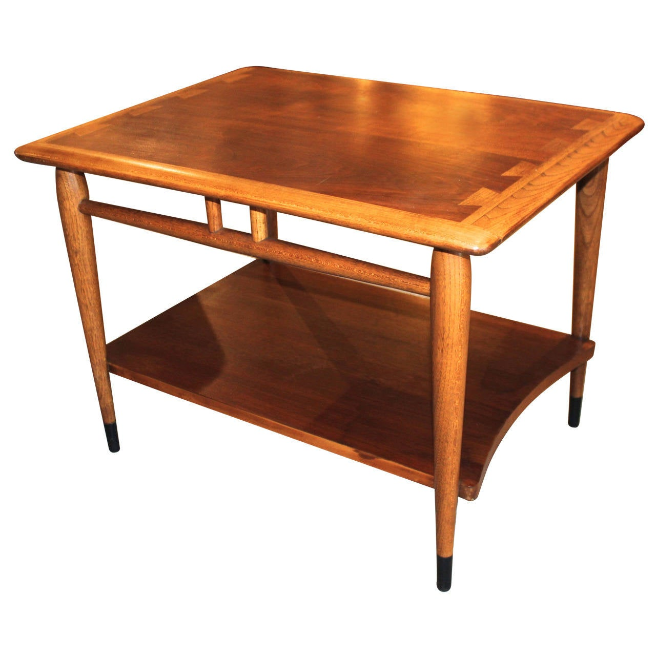 Lane Coffee Table With Drawers: Lane Dovetail End Tables At 1stdibs