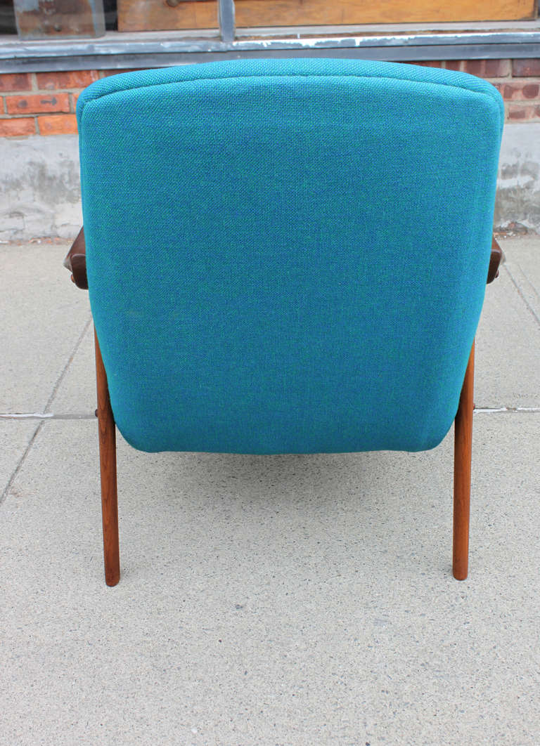 Danish Walnut Scoop Armchair 5