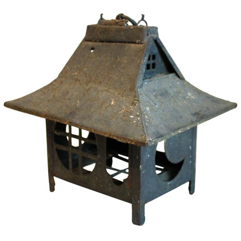 Pagoda Styled Squirrel Cage At 1stdibs