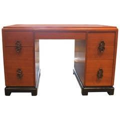Vintage Art Deco Style Desk