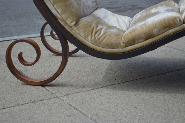 george mulhauser for plycraft chaise lounge at 1stdibs