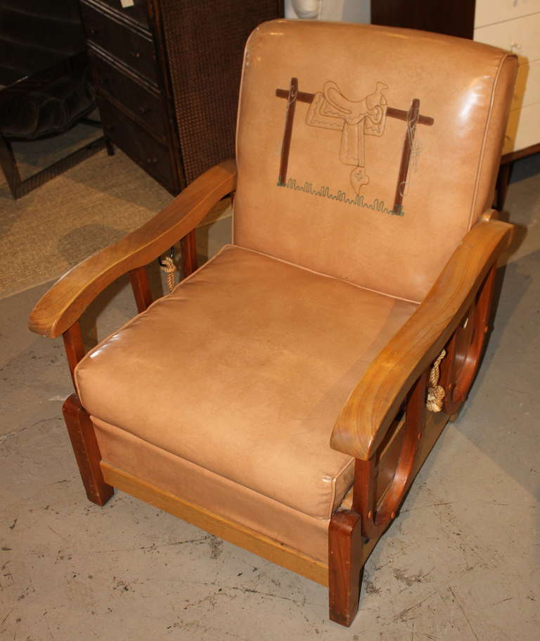 Awesome Vintage Cowboy Chair For Sale At 1stdibs