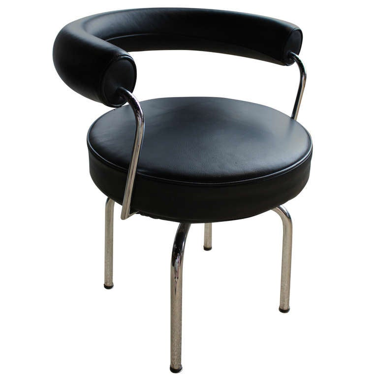 Le corbusier pierre jeanneret charlotte perriand lc7 swivel chair at