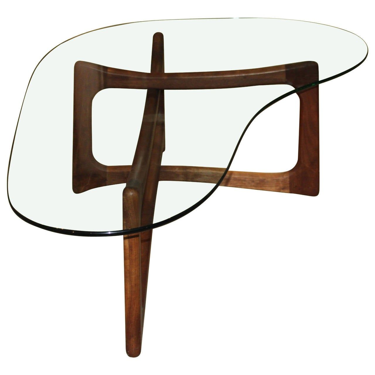 Adrian pearsall coffee table at 1stdibs adrian pearsall coffee table 1 geotapseo Choice Image