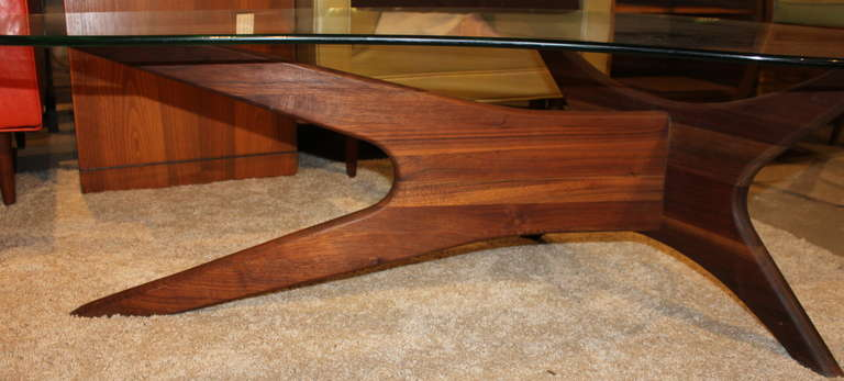 Atomic Age Coffee Table By Adrian Pearsall At 1stdibs