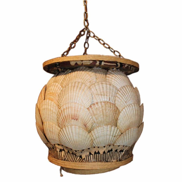 seashell chandelier at 1stdibs
