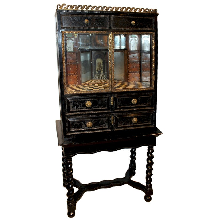 Neo Baroque Furniture Flemish Neo-Baroque Eb...